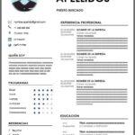 Formato de Currículum 2020 – 2021 para Word