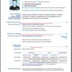 Formato de Curriculum Vitae Europeo – CV Europass