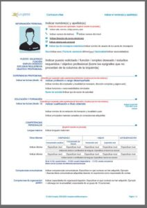 currículum vitae europeo CV Europass