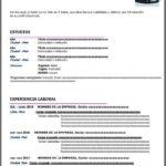 Formato de Currículum Vitae para Estudiantes