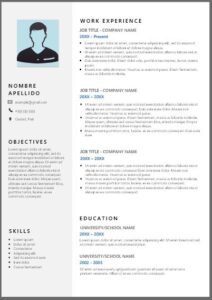 Currículum Vitae en Inglés