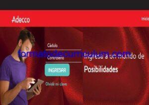 Certificado de búsqueda de trabajo activa ADECCO
